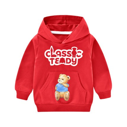 CLASSIC TEDDY 精典泰迪 儿童连帽卫衣