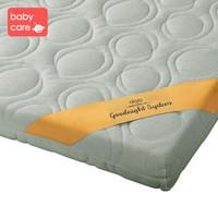 babycare婴儿床垫椰棕儿童床垫无胶水0甲醛天然乳胶垫 全透气床垫可拆洗 天然巴棉双芯款 100*56cm