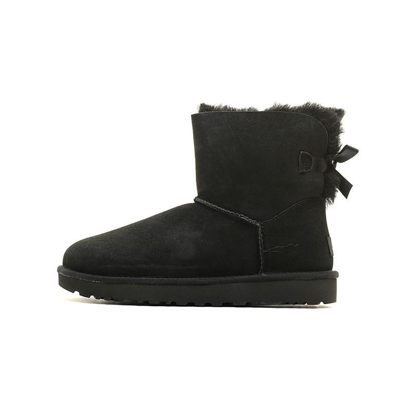 历史低价、考拉海购黑卡会员 : UGG Mini Bailey Bow II 1016501 女士雪地靴