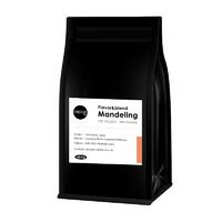 移动端 : MEIAN美岸咖啡新鲜烘焙曼特宁咖啡豆手冲纯黑咖啡可现磨粉454克