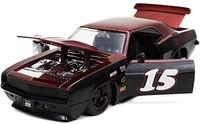 Bigtime Muscle 1:24 1969 雪佛兰科迈罗压铸汽车黑色/红色