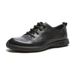 hotwind 热风 H044M9330601 男士圆头系带休闲皮鞋