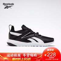 Reebok锐步 运动健身MEGA FLEXAGON男子低帮训练鞋FV0513 H67541_黑色/白色/蓝色 41