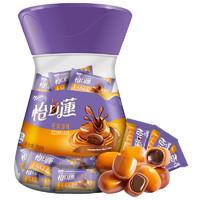 必买年货、88VIP:怡口莲 原味巧克力夹心太妃糖 318g *5件