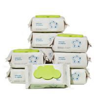 京东PLUS会员:BabyCare 婴儿厚湿巾 80抽 10包 *2件