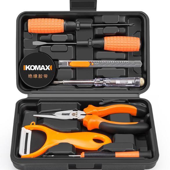 科麦斯 家用工具套装 居家10件套