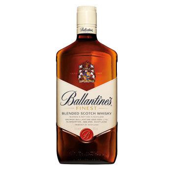 有券的上、京东PLUS会员 : Ballantine's  百龄坛  苏格兰威士忌 1000ml