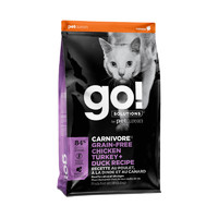 25日10点、考拉海购黑卡会员:Go! 生命防护系列 鸡肉全猫粮 8磅/3.7kg