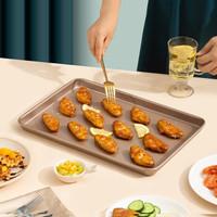 魔幻厨房 magic kitchen 香槟金不沾烤盘 12.8英寸 MK-J004 *3件
