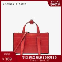 CHARLES&KEITH2020秋冬女包CK2-50270471带手提单肩包女