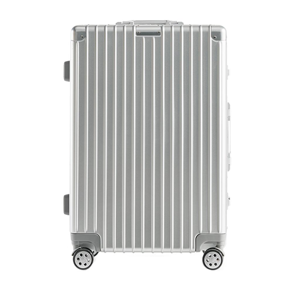历史低价 : 淘宝心选 竖纹系列 铝镁合金框行李箱 20英寸