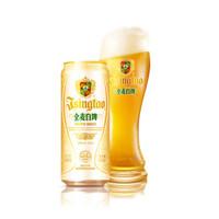 TSINGTAO 青岛啤酒 全麦白啤 500ml*12听*2箱 *2件