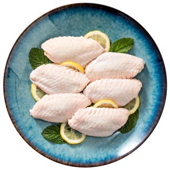 新希望六和 鸡翅中 1kg*3件+黄秋葵 450g(翅中16.6元/斤,秋葵白送)