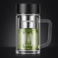 kaka 咔咔 双层玻璃杯 350ml