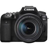 百亿补贴:Canon 佳能 EOS 90D APS-C画幅 单反相机套机(EF-S 18-55mm F3.5-5.6 IS STM镜头)