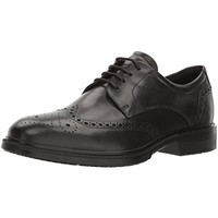 限尺码:ECCO 爱步 Men's Lisbon Brogue 里斯系列 系带牛津男鞋