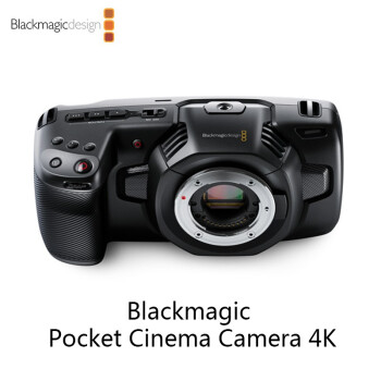 Blackmagic Pocket Cinema Camera 4K M4/3 手持式数字摄影机