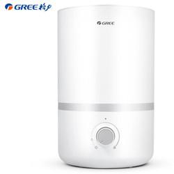 格力(GREE)加湿器 3升静音 上加水 办公室卧室家用 带香薰盒 母婴可用 双重防漏水(SC-30X76)