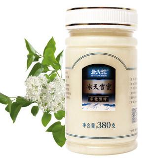 北大荒 东北黑蜂 椴树冰天雪蜜 纯蜂蜜380g 成熟蜜(新老包装随机发货) *4件