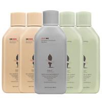 阿道夫(ADOLPH)茶麸冰热养护理洗发水旅行套装400ml(洗发水*2+沐浴露*2+护发素)80ml*5