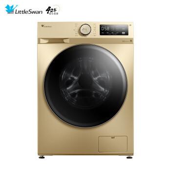 小天鹅(LittleSwan)10公斤变频 滚筒洗衣机全自动 TG100PURE 智能家电 特色高温除螨洗 BLDC变频电机