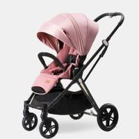 Pouch 帛琦 A60 婴儿推车 藕粉色-高景观升级款