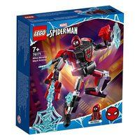 积木之家:LEGO 乐高 76171 SpiderMan蜘蛛侠系列 迈尔斯·莫拉莱斯机械装甲