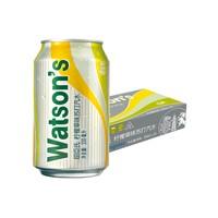 88VIP:Watsons 屈臣氏 柠檬草味苏打汽水 330ml*24听