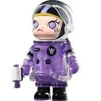 POPMART 泡泡玛特 AlienMolly太空人 紫水晶 限量潮玩