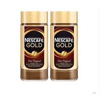 考拉海购黑卡会员:Nestlé 雀巢 瑞士原装金牌咖啡粉 100g*2罐装