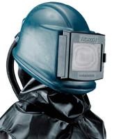 霍尼韦尔(Honeywell)A133230-00喷砂头盔 Bisonyl披肩 玻纤加强聚酯橡胶涂层头罩 防噪音 1个/盒