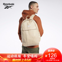 Reebok锐步 运动经典CL FO JWF Backpack 3.0男女双肩包背包 GD1048_米黄色 N SZ