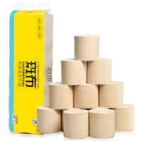 BABO 斑布 本色竹浆卷纸 3层*150g*12卷