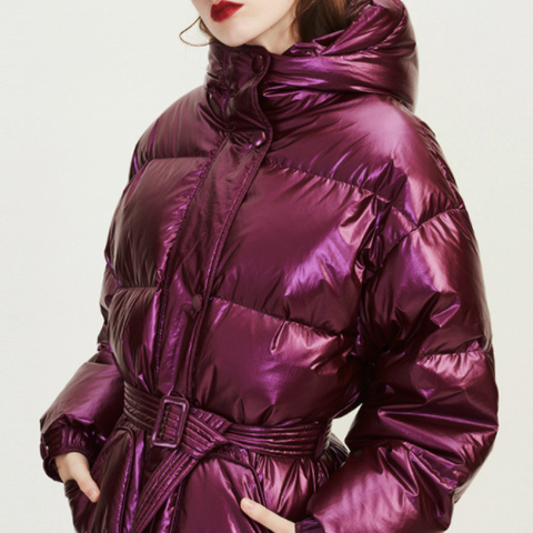 super.natural R2URW025850159 秋冬中长款保暖羽绒服