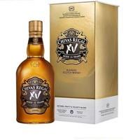 cdf会员购:CHIVAS 芝华士 15年XV 苏格兰威士忌 公升装 1000ml