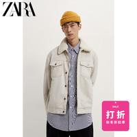 ZARA 00706322710 男装冬季拼接棉服夹克外套