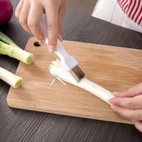 榕力 家用厨房创意不锈钢切葱器