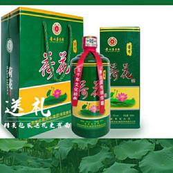 贵州荷花酒53度白酒整箱6瓶