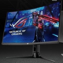 ROG 玩家国度 XG32VC 31.5英寸曲面显示器(2560x1080、175hz、1800R、120%RGB色域)