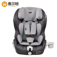 京东PLUS会员:Welldon 惠尔顿 儿童安全座椅 ISOFIX 9个月-12岁酷睿宝plus