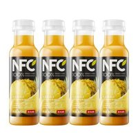NONGFU SPRING 农夫山泉 NFC果汁(冷藏型) 100%凤梨混合汁 300ml*4瓶