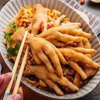 限地区:京觅 鸡爪  卤鸡爪 1kg *10件