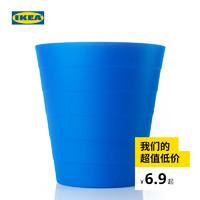 IKEA宜家FNISS芬尼斯家用收纳置物垃圾桶现代简约北欧易擦拭