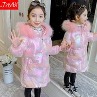 儿童棉服2020年冬季新款儿童羽绒棉衣洋气中大童加厚棉袄外套冬装