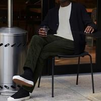 UNIQLO 428902 男士紧身灯芯绒牛仔裤