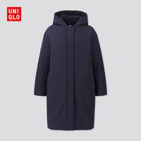 限尺码:UNIQLO 优衣库 420215 女装复合填充羽绒大衣