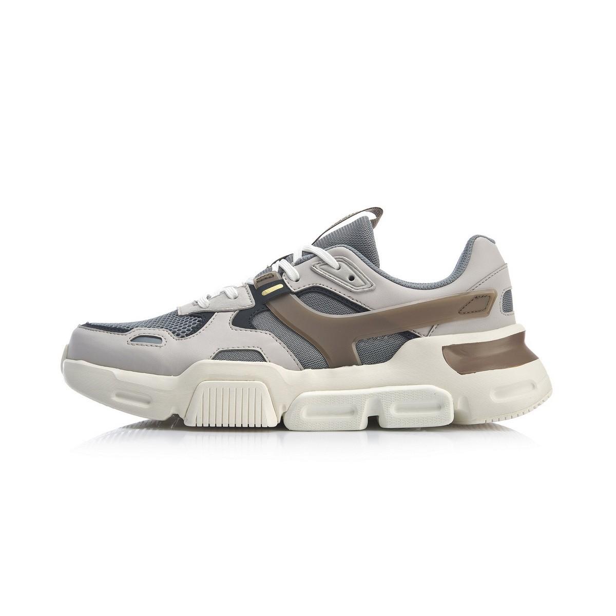 LI-NING 李宁 心选MARK 男子休闲运动鞋 AGLP039-2  灰白 42