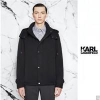 KARL LAGERFELD 卡尔·拉格斐 KLM20B1702600042 男士90%白鹅绒羽绒服