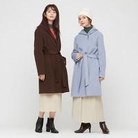 UNIQLO 优衣库 430478 女士双面呢大衣