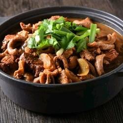 上海11店通用 牛腩之旅·牛腩牛杂煲2-3人牛腩煲套餐